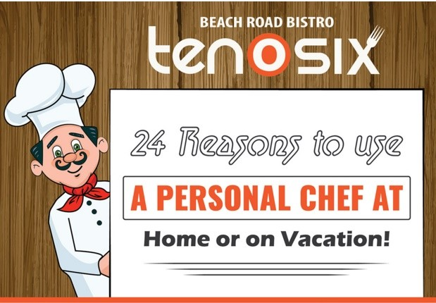 24 Reasons to Hire a Personal Chef at Home or on Vacation