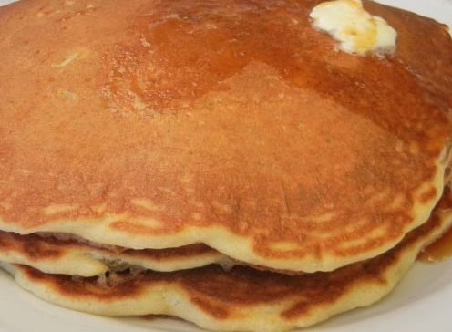 Pancakes are the bomb at Ten O Six