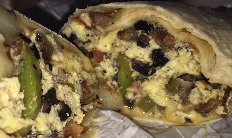 Breakfast Burrito Platter
