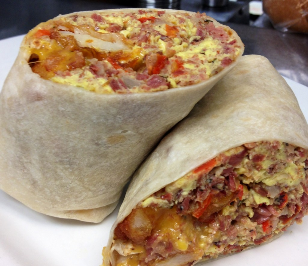 Beachcomber Breakfast Burrito