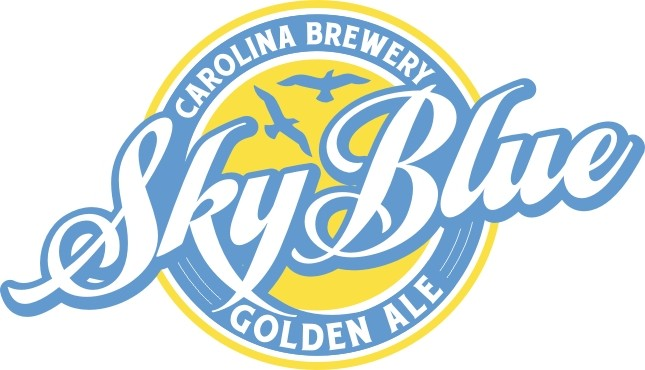 Carolina Brewery Sky Blue 1/6 Keg at Ten O Six Beach Road Bistro