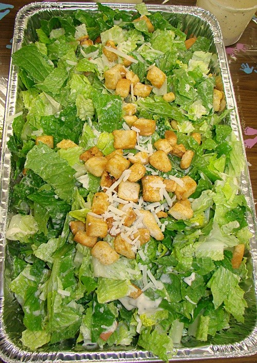 Caesar Salad Party Platter at Ten O Six Beach Road Bistro