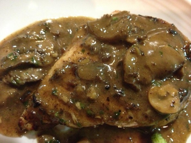 Chicken Marsala Outer Banks Personal Chef