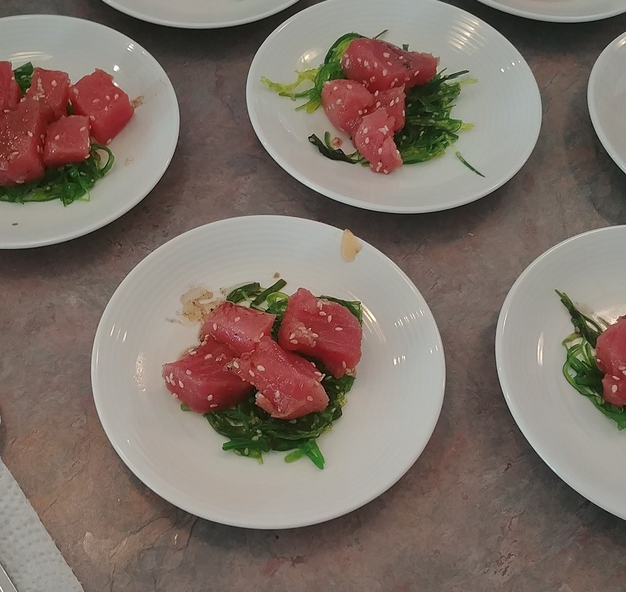 Outer Banks Catering / Tuna Poke