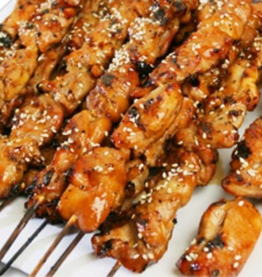 Mini Chicken Teriyaki Skewers an Outer Banks Catering favorite