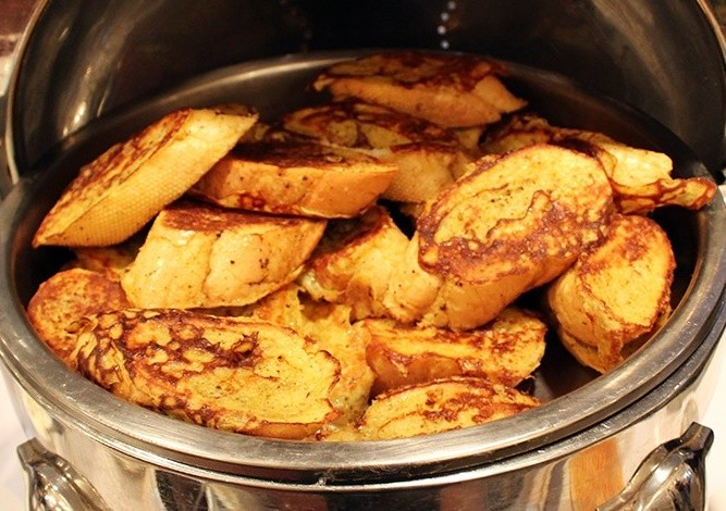 French Toast Breakfast Catering Platter