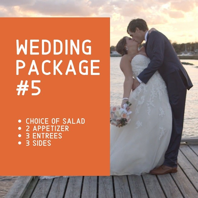 Outer Banks Catering Wedding Package 5