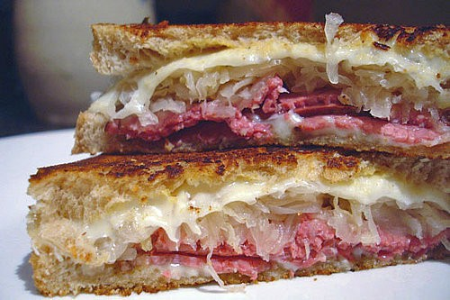 Outer Banks' best Reuben Sandwich