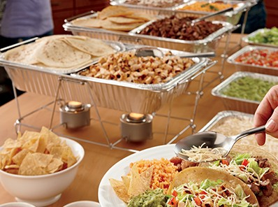 Outer Banks Catering Taco Bar