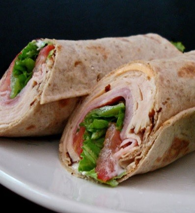 Turkey Avoicado Wrap Ten O Six Beach Road Bistro