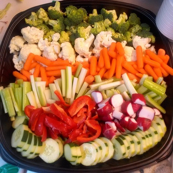 Outer Banks Catering Vegetable Platter
