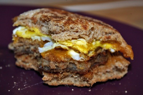 Working Man Breakfast Sandwiches