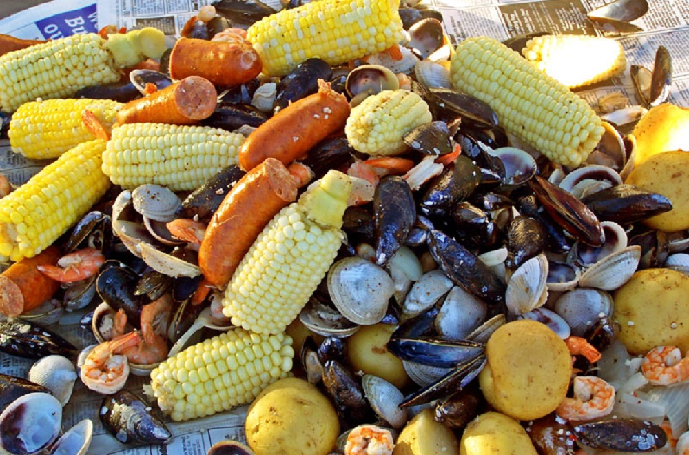 Outer Banks Clam Bakes at Ten O Six Beach Road Bistro
