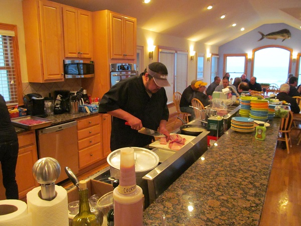 Personal Chef Will Sanders cooking your next Outer Banks Catering event