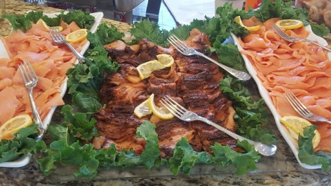 Salmon Catering Platter / Luncheon